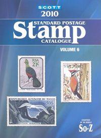 Scott Standard Postage Stamp Catalogue, Volume 6: Countries of the World, So-Z