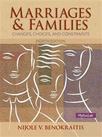 Marriages and Familes Plus New Mylab Sociology with Pearson Etext -- Access Card Package