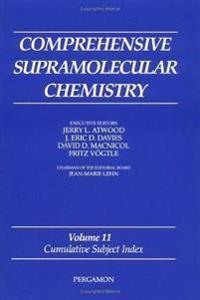 Comprehensive Supramolecular Chemistry, Volume 11