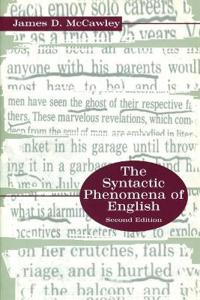 The Syntactic Phenomena of English