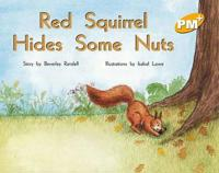 Red Squirrel Hides Some Nuts