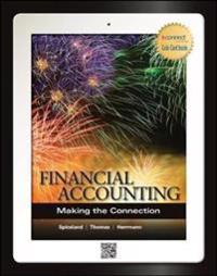 Financial Accounting: Making the Connection with Connect Access Card
