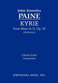 Kyrie (from Mass, Op. 10) - Chorus Score