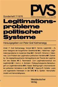 Legitimationsprobleme Politischer Systeme