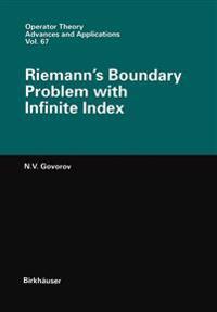 Riemann's Boundary Problem With Infinite Index