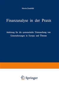 Finanzanalyse in Der Praxis