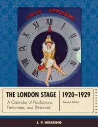 The London Stage 1920-1929