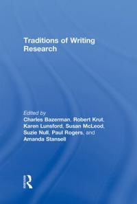 Traditions of Writing Research