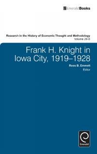 Frank H. Knight in Iowa City, 1919 - 1928