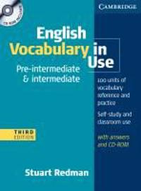 English Vocabulary in Use. Pre-Intermediate and Intermediate. Edition with answers and CD-ROM