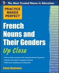 French Nouns and Their Genders Up Close