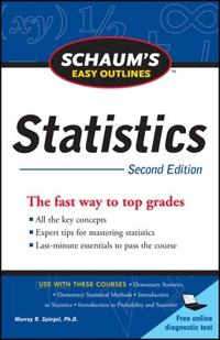 Schaum's Easy Outlines Statistics