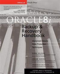 Oracle8I Backup & Recovery Handbook