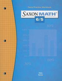 Saxon Math 6/5: Fact Practice Workbook
