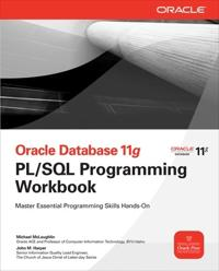 Oracle Database 11 G PL/SQL Programming
