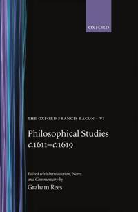 Philosophical Studies C.1611-C.1619