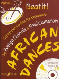 Beat It! African Dances: Group Percussion for Beginners, Book & CD