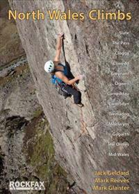 North wales climbs - rockfax rock climbing guidebook