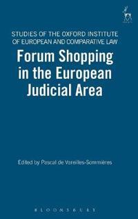 Forum Shopping in the European Judicial Area