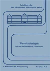 Wasserkraftanlagen