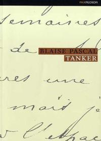 Tanker - Blaise Pascal pdf epub