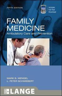Family Medicine, Ambulatory Care & Prevention