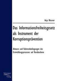 Das Informationsfreiheitsgesetz