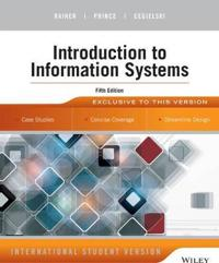 Introduction to Information Systems