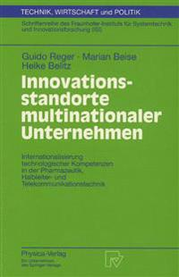 Innovationsstandorte Multinationaler Unternehmen
