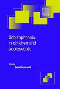 Schizophrenia in Children and Adolescents