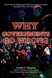 Why Governments Go Wrong