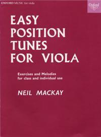 Easy Position Tunes for Viola