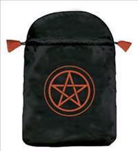 Pentacle Satin Tarot Bag