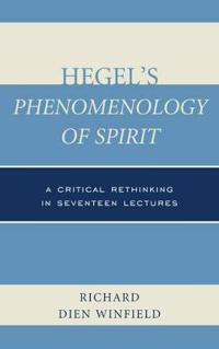 Hegel's Phenomenology of Spirit