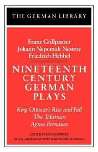 Nineteenth-Century German Plays