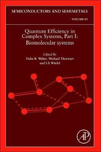 Quantum Efficiency in Complex Systems, Part I