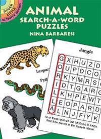 Animal Search-A-Word Puzzle
