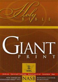 Giant Print Bible-NASB-Handy-Size