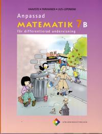 Anpassad matematik 7 B