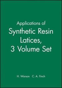 Applications of Synthetic Resin Latices , 3 Volume Set ,