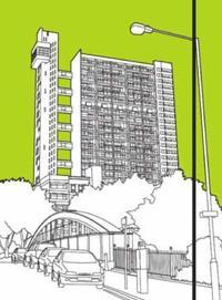 London Buildings: Trellick Tower notebook