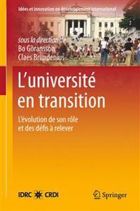 L'universite en transition