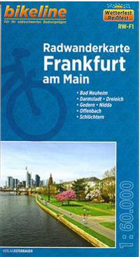 Bikeline Radwanderkarte Frankfurt/Main 1 : 60 000