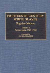 Eighteenth-Century White Slaves