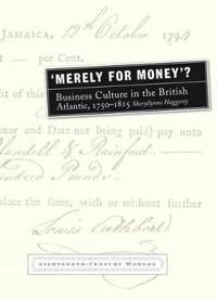 `Merely for Money'?