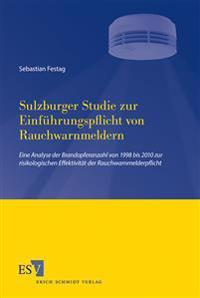 Sulzburger Studie zur Einführungspflicht von Rauchwarnmeldern