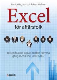 Excel 2010 för affärsfolk