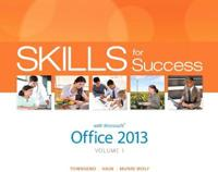 Skills for Success With Microsoft Office 2013