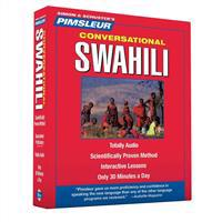 Pimsleur Conversational Swahili [With CD Case]