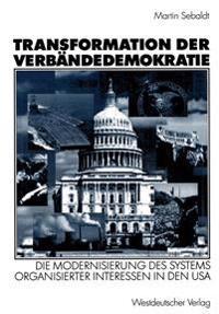 Transformation Der Verbändedemokratie